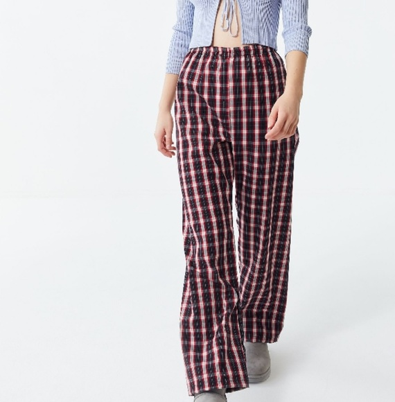 Urban Outfitters Pants - Checkered Plaid Puddle Pant